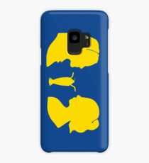 Milkshake Silhouette (V+B | Yellow) Case/Skin for Samsung Galaxy