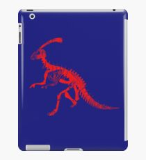 Dino Blue and Red iPad Case/Skin