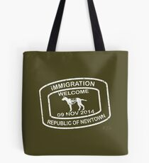 Republic of Newtown - Khaki Tote Bag