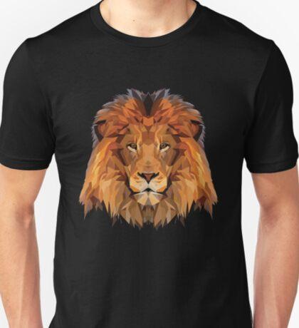 Lion Low Poly Art T-Shirt