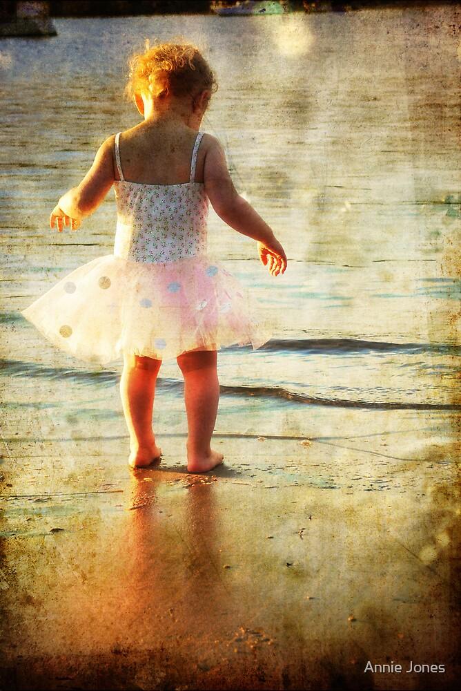 Watching waves by Annie Jones