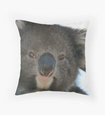 Face Off Throw Pillow