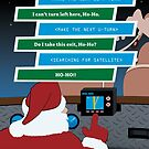 Santa Installs a GPS by hhgreetings