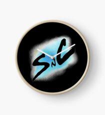 SnC Logo - Blue Clock