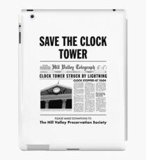 Save The Clock Tower Merchendise iPad Case/Skin