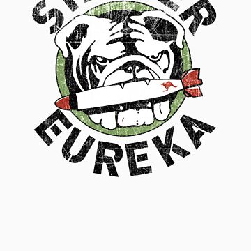 Distressed Striker Eureka Logo by TheBatchild