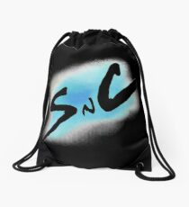 SnC Logo - Blue Drawstring Bag