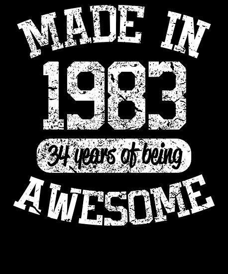 1983 Birthday Shirt