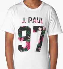 Jake Paul - Colorful Flowers Long T-Shirt