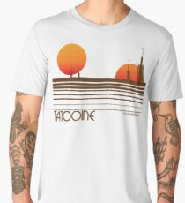 Visit Tatooine Men's Premium T-Shirt