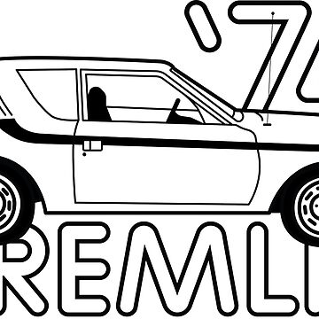 '74 AMC Gremlin by brookyss36