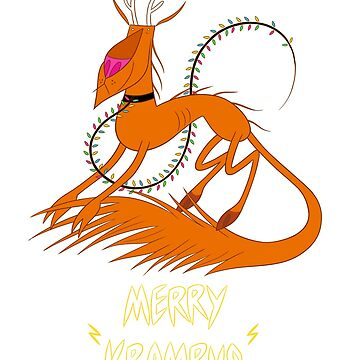 Krampus Reindeer by Ninjatoes