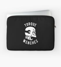 TW White Logo w/ Letters Laptop Sleeve