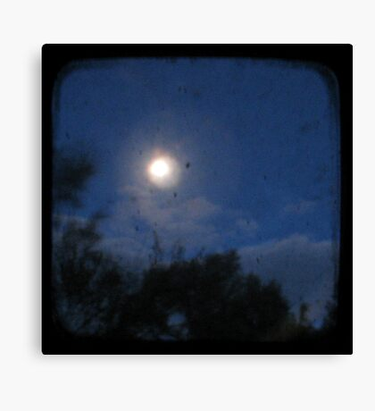 Night - Through The Viewfinder Canvas Print