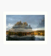 Västra Spöland – Vindelälven Art Print