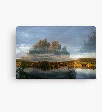 Västra Spöland – Vindelälven Canvas Print