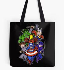 Mighty Heroes Tote Bag
