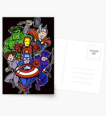 Mighty Heroes Postcards