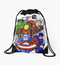 Mighty Heroes Drawstring Bag