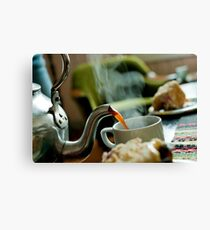 Retro Coffee Pot Canvas Print