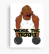 Workout Ackbar Canvas Print