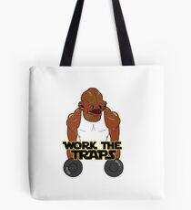 Workout Ackbar Tote Bag