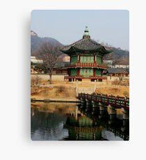 Traditional Korea Canvas Print