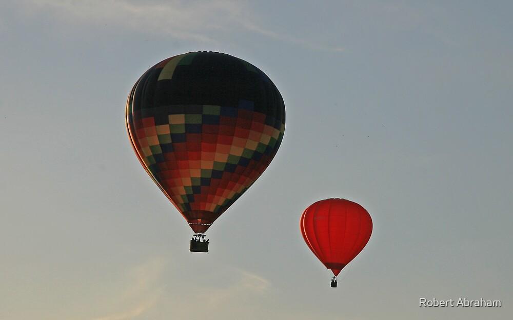 Balloon Race by Robert Abraham