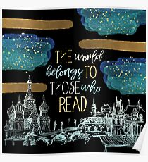 Stars Read the World Poster