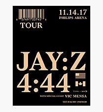 Lámina fotográfica Cartel de Jay Z 4:44 Tour