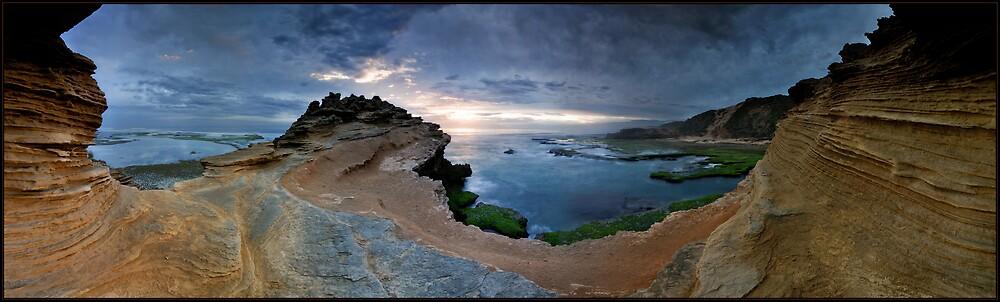 Sandstone View Panorama by Robert Mullner