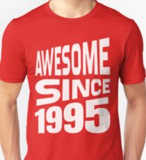 Awesome Since 1995 Slim Fit T-Shirt