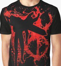 Berserk Guts Blood Logo Graphic T-Shirt