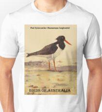 Pied Oystercatcher - Birds of Australia series Unisex T-Shirt