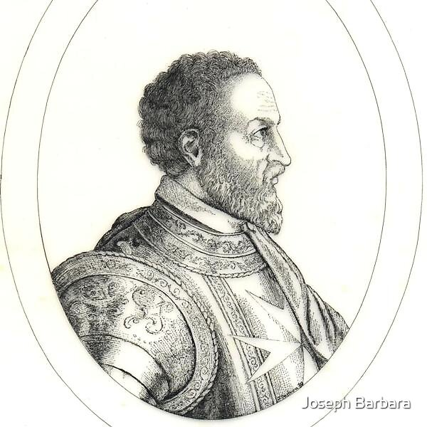 Grandmaster Jean de la Valette by Joseph Barbara