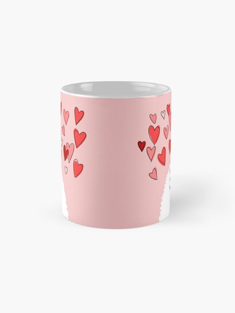 Alternate view of Pomeranian Valentine Mug