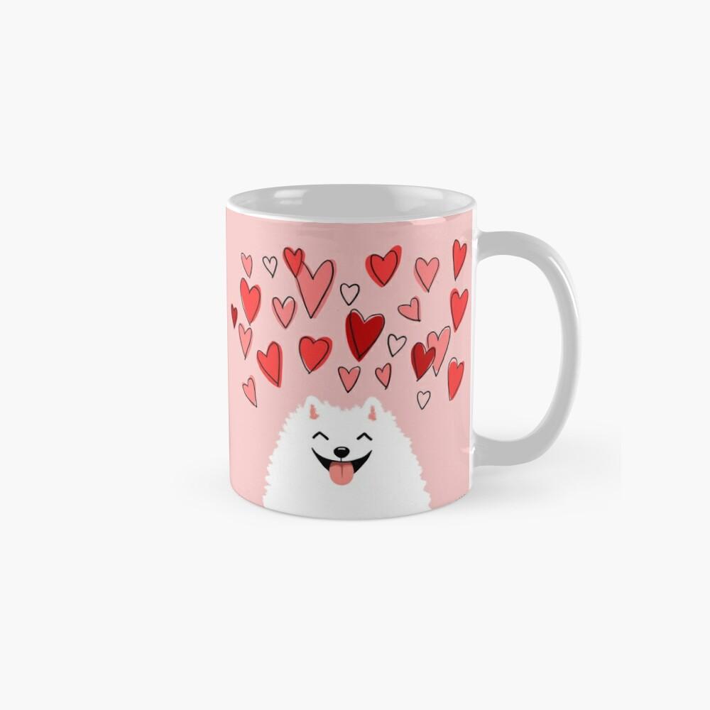 Pomeranian Valentine Mug