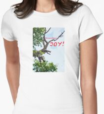 BOUNDLESS JOY Fitted T-Shirt