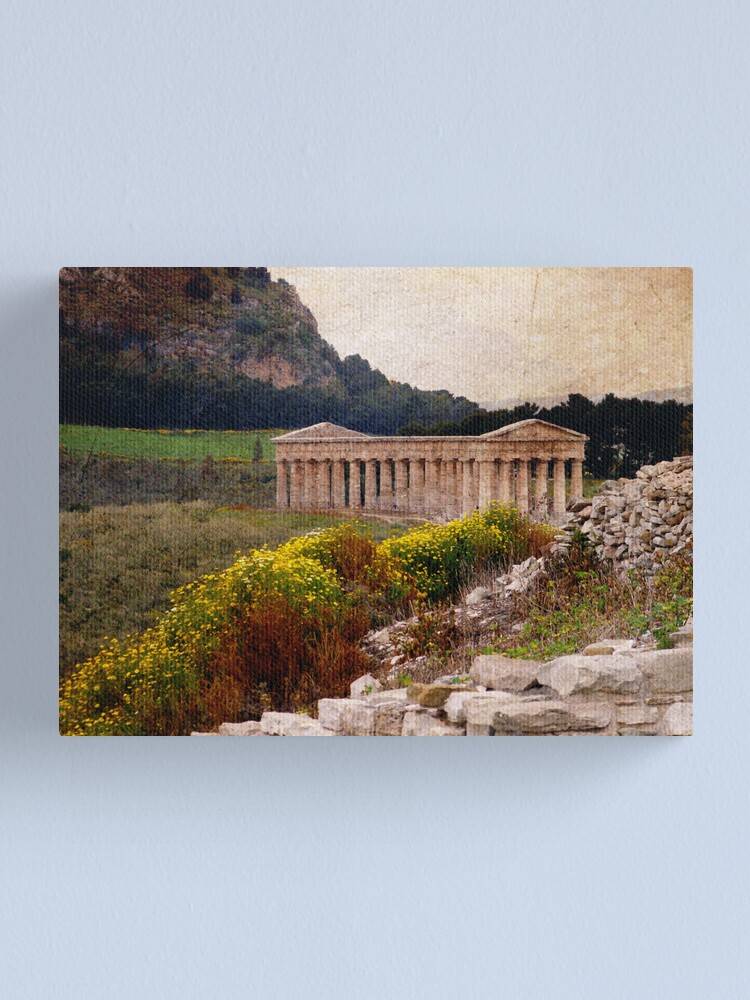 Alternate view of Segesta Canvas Print