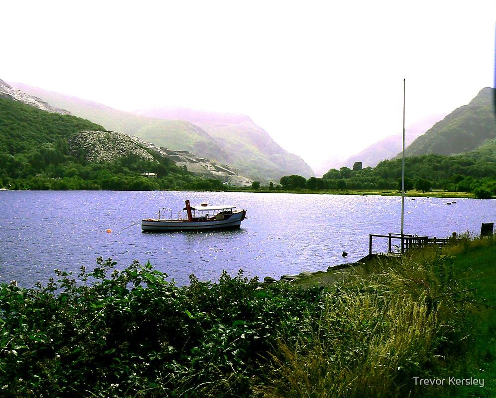 The Lake - Llanberris by Trevor Kersley