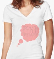 Above and Beyond- Dream on  Women's Fitted V-Neck T-Shirt