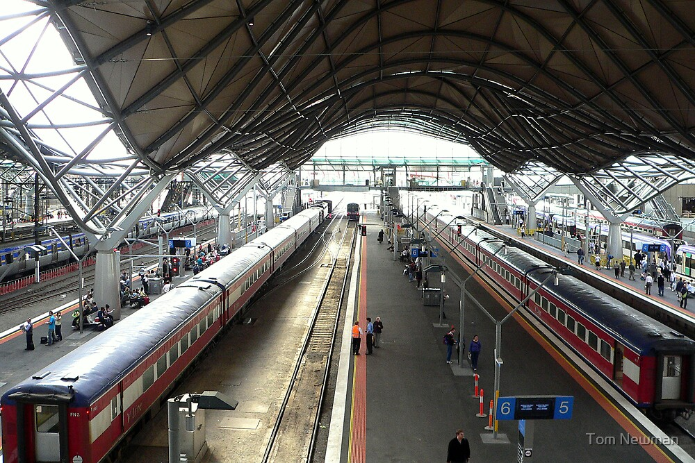 Southern Cross Station by Tom Newman