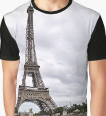 Crossing the River Seine Graphic T-Shirt