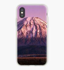 Mt Ngauruhoe iPhone Case