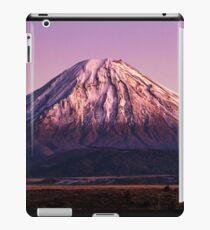 Mt Ngauruhoe iPad Case/Skin