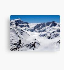 Murchison Glacier Canvas Print