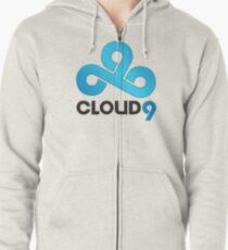 Cloud 9 - Sleek Gloss Zipped Hoodie
