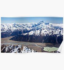 Lake Tasman Poster