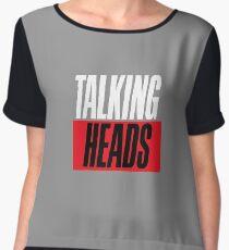 talking heads Women's Chiffon Top