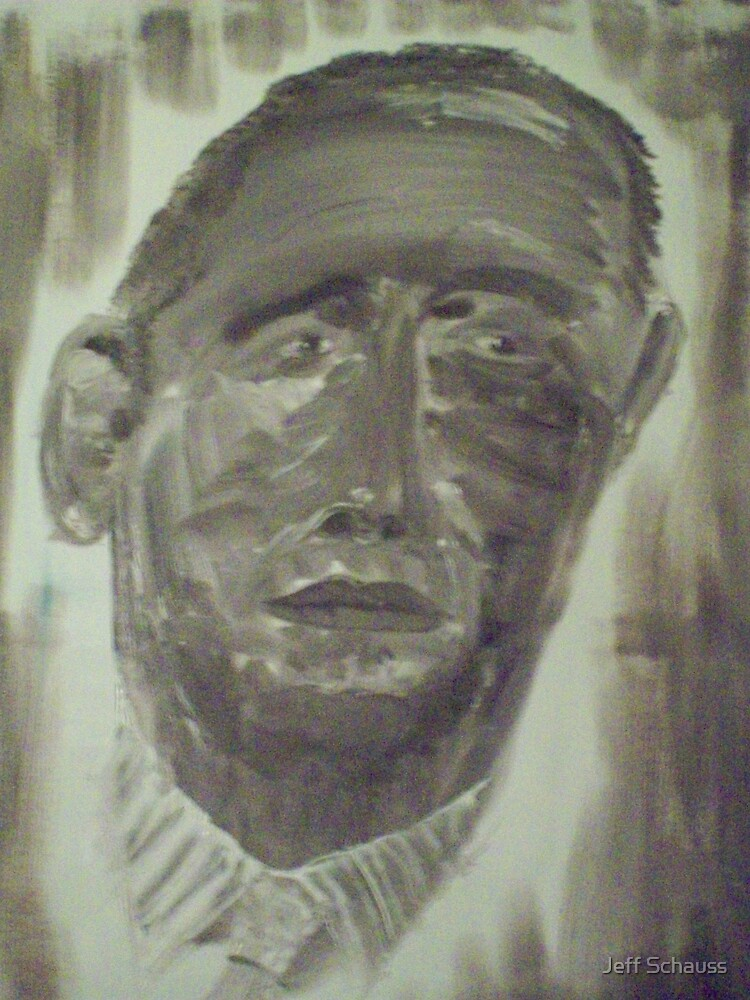 Channeled Image of President Elect Obama  11-10-08 by Jeff Schauss